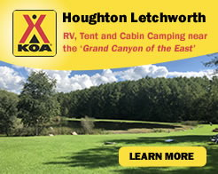 Houghton-Letchworth KOA Campground