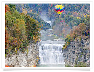 Ballooning over Letchworth State Park